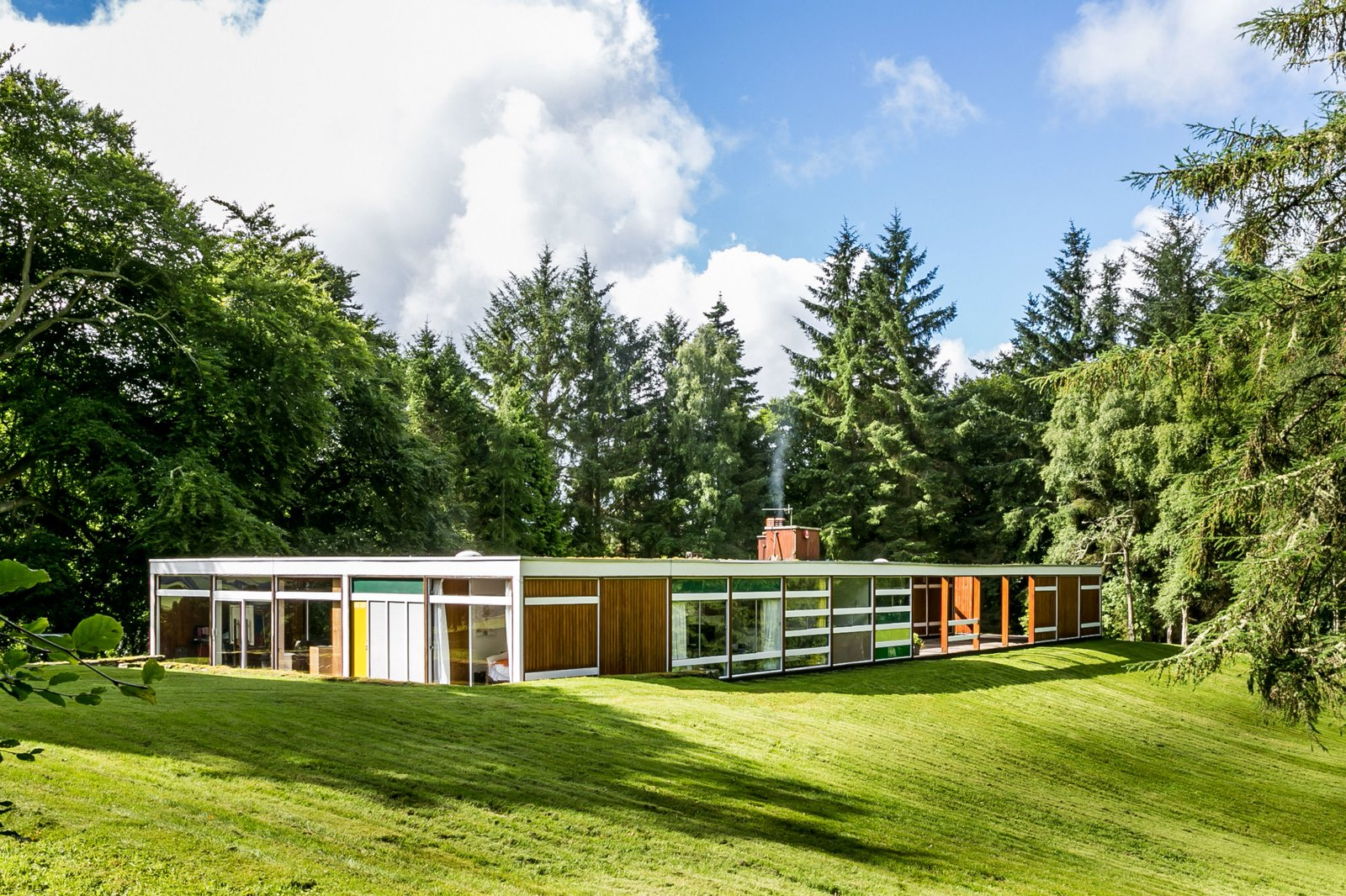 The Iconic, Midcentury Home That Peter Womersley Designed For Bernat Klein Asks $1.02M
