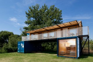 A Mobile Boutique Hotel For the Modern Traveler Made From Shipping Containers - Photo 1 of 14 -