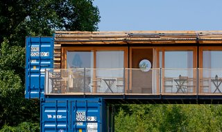 A Mobile Boutique Hotel For the Modern Traveler Made From Shipping Containers - Photo 2 of 14 -