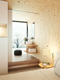 This Modular Eco-Hotel Room Is Poised to Drop Into Nearly Any Setting - Photo 7 of 8 -