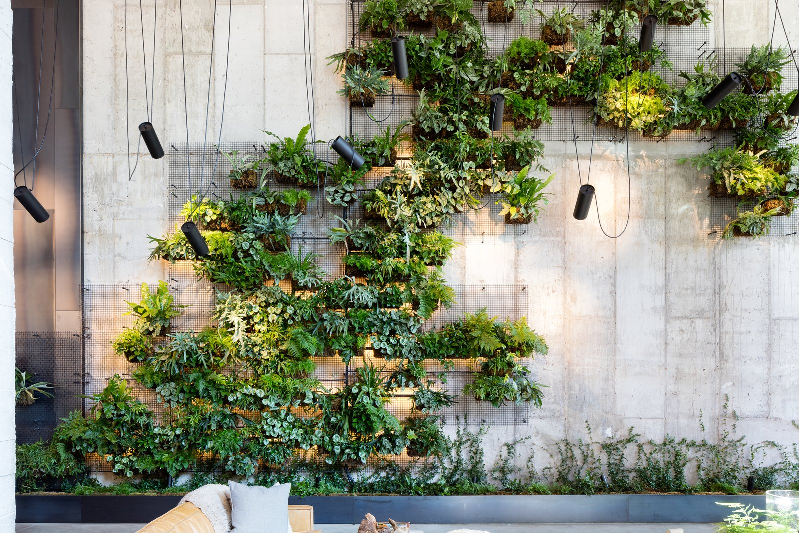 Wall: Check Out This Brooklyn Hotel's Dramatic Living Wall
