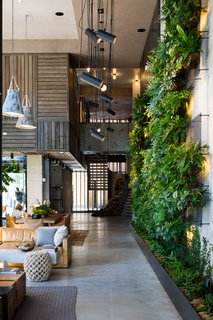 Check Out This Brooklyn Hotel's Dramatic Living Wall Installation - Photo 4 of 6 -