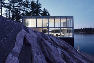 This Mesmerizing Glass House Is Also a Photographer's Lakeside Studio