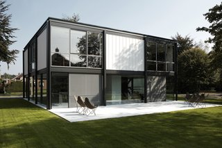 A Fantastic Renovation in Belgium Rescues a Bauhaus-Inspired Home - Photo 1 of 11 -