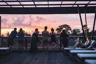 Forget Coworking—These Coliving Spaces Let You Travel the World For $1,800 a Month - Photo 14 of 25 - Roam Bali sunset