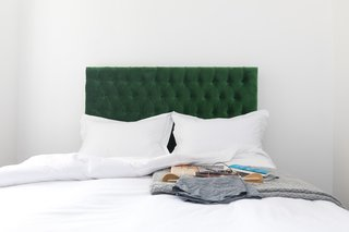 Forget Coworking—These Coliving Spaces Let You Travel the World For $1,800 a Month - Photo 20 of 25 - Roam London bed and handmade headboard