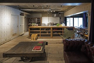 Forget Coworking—These Coliving Spaces Let You Travel the World For $1,800 a Month - Photo 22 of 25 - Roam Tokyo professional kitchen and lounge