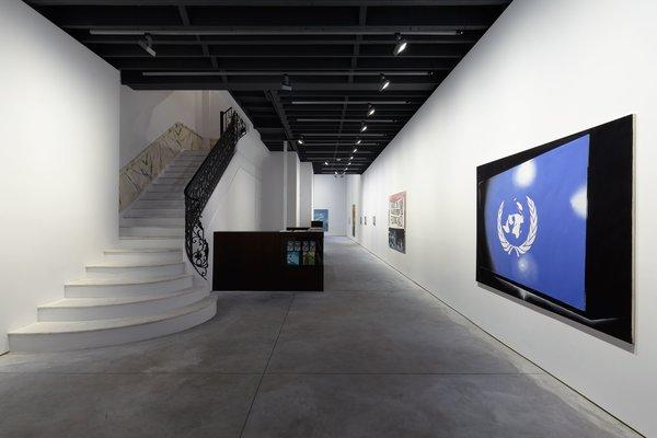 Photo  of Anton Kern Gallery modern home