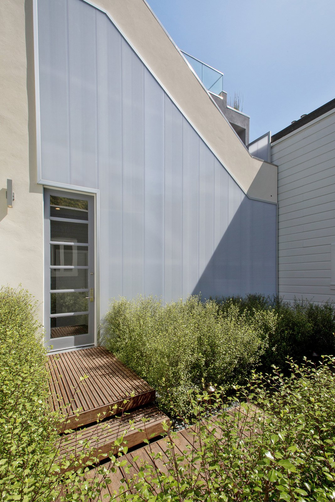 Tagged: Outdoor, Shrubs, Back Yard, and Hardscapes.  LEED Platinum House in SF by DNM Architecture