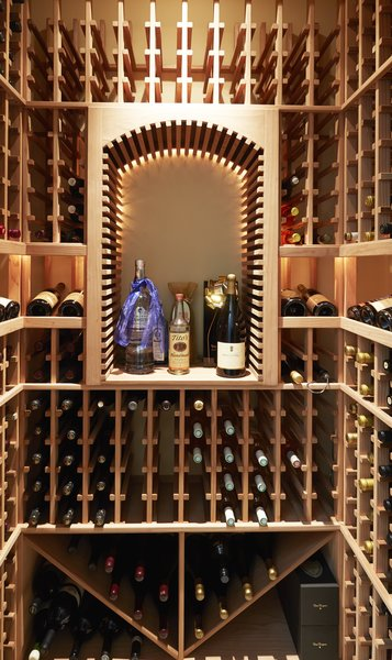 Modern home with storage room and closet storage type. Wine Closet Photo 16 of Rustic elegance