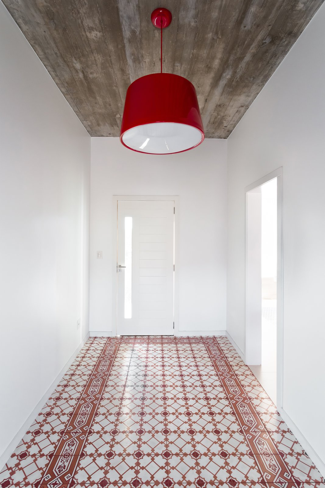 Tagged: Hallway and Ceramic Tile Floor.  View House by Barbara Becker