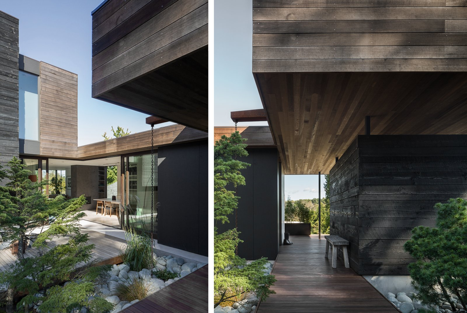 Helen Street by mw|works Tagged: Outdoor, Small Patio, Porch, Deck, and Wood Patio, Porch, Deck. Helen Street by mw|works