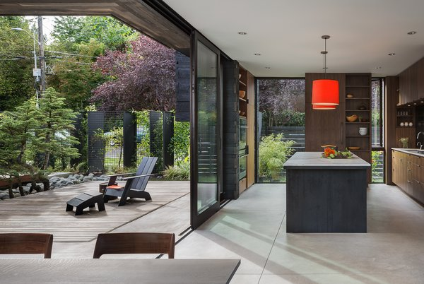 Modern home with kitchen. Helen Street by mw|works Photo 10 of Helen Street