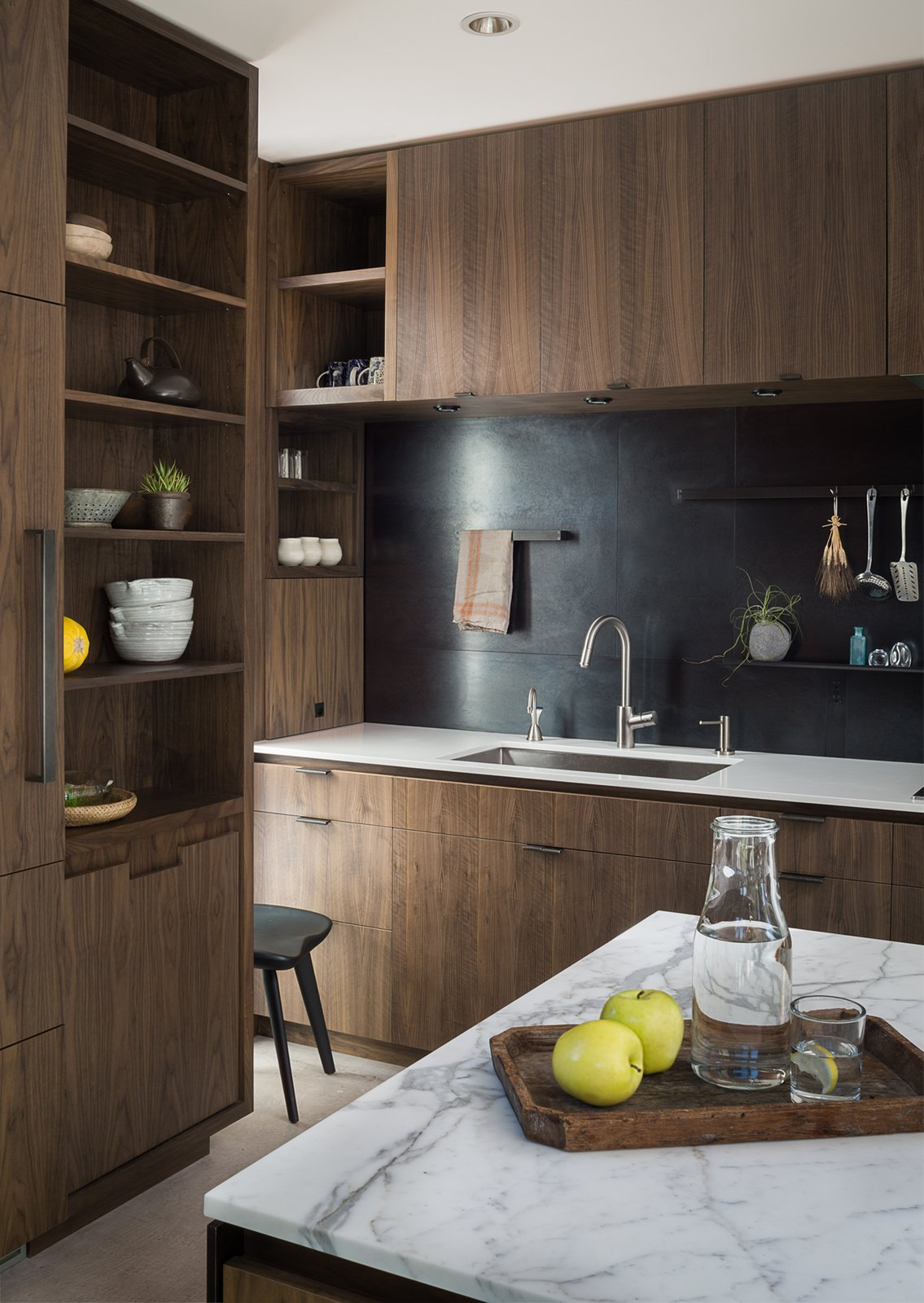 Helen Street by mw|works Tagged: Kitchen, Wood Cabinet, and Marble Counter.  Helen Street by mw|works