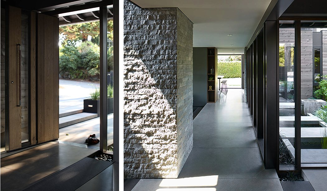 Laurelhurst Residence Tagged: Hallway.  Quantum Clad Windows & Doors by Quantum Windows & Doors