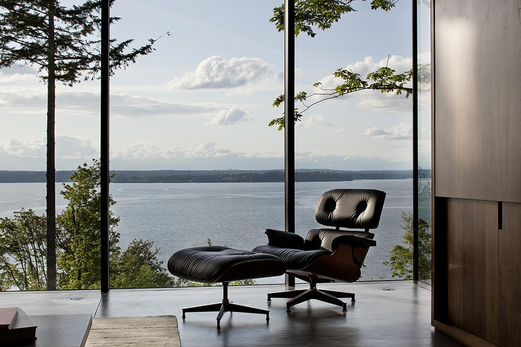 Case Inlet Retreat Tagged: Living Room and Chair.  Case Inlet Retreat by mw|works