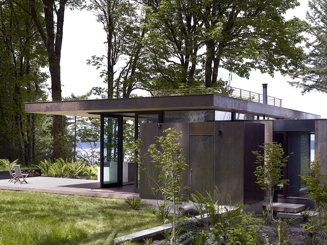 Case Inlet Retreat Tagged: Outdoor, Grass, and Back Yard.  Case Inlet Retreat by mw|works