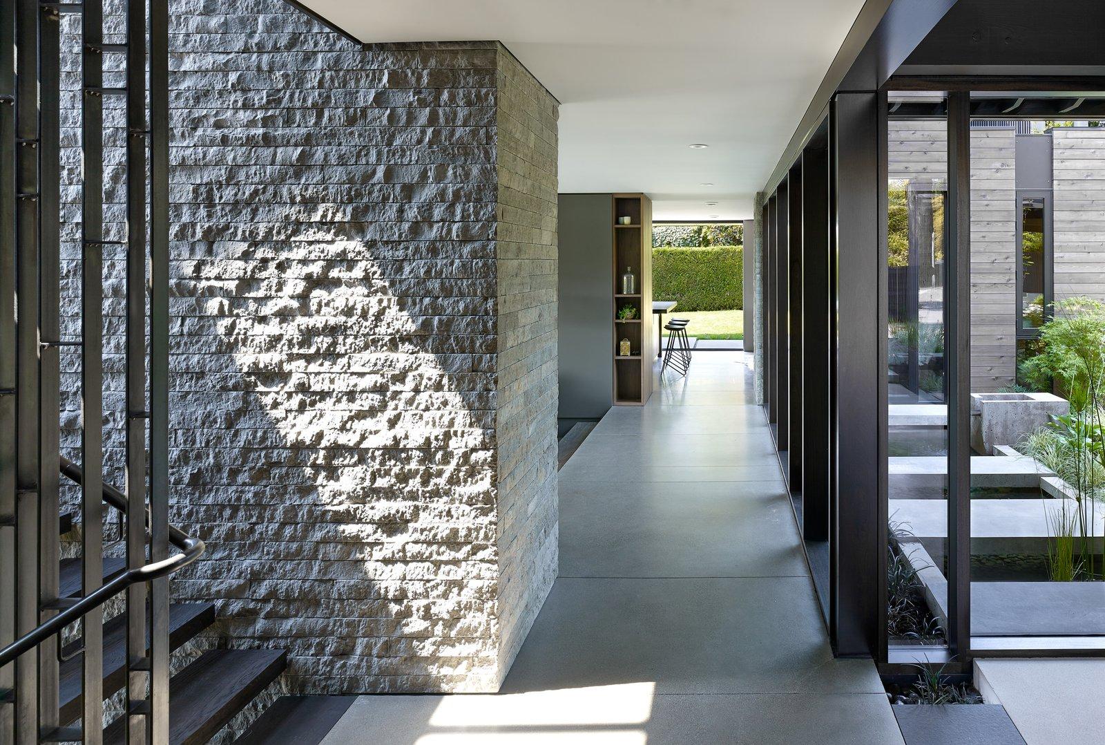 Laurelhurst Residence Tagged: Hallway.  Laurelhurst Residence by mw|works
