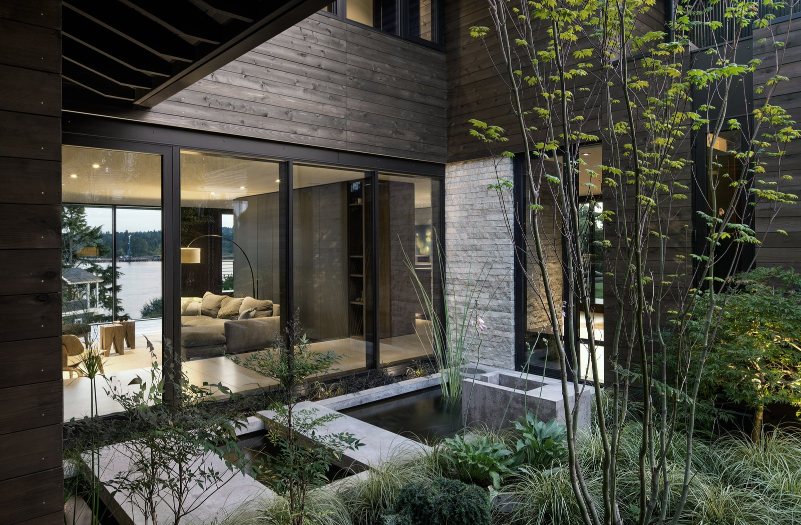 Laurelhurst Residence Tagged: Outdoor, Gardens, and Concrete Pools, Tubs, Shower.  Laurelhurst Residence by mw|works