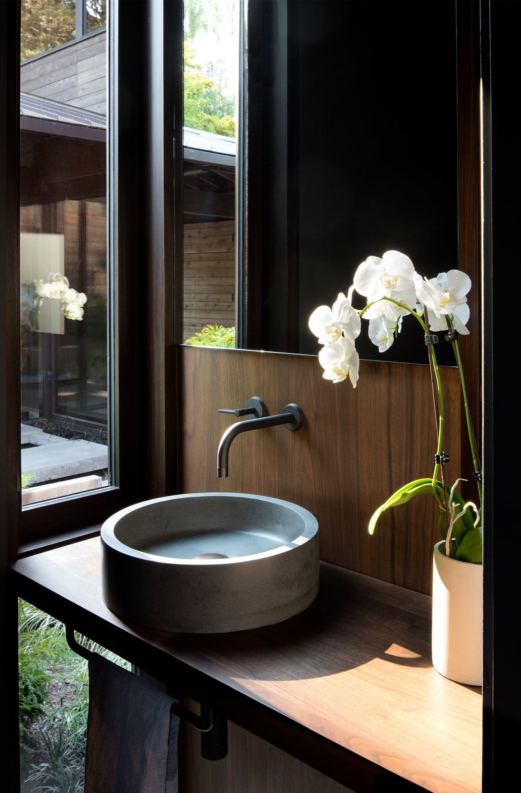 Laurelhurst Residence Tagged: Bath Room and Wood Counter.  Laurelhurst Residence by mw|works