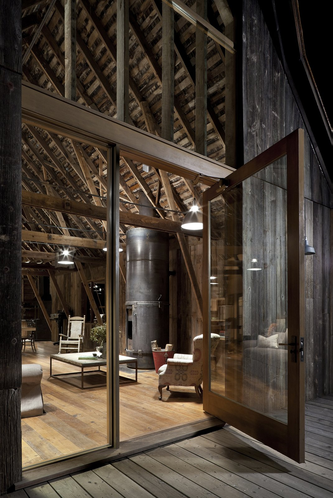 Canyon Barn Tagged: Doors.  Best Photos from L