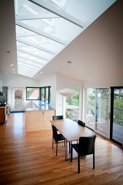 Modern home with dining room. Atomic Ranch by Graham Baba Architects Photo 6 of Atomic Ranch