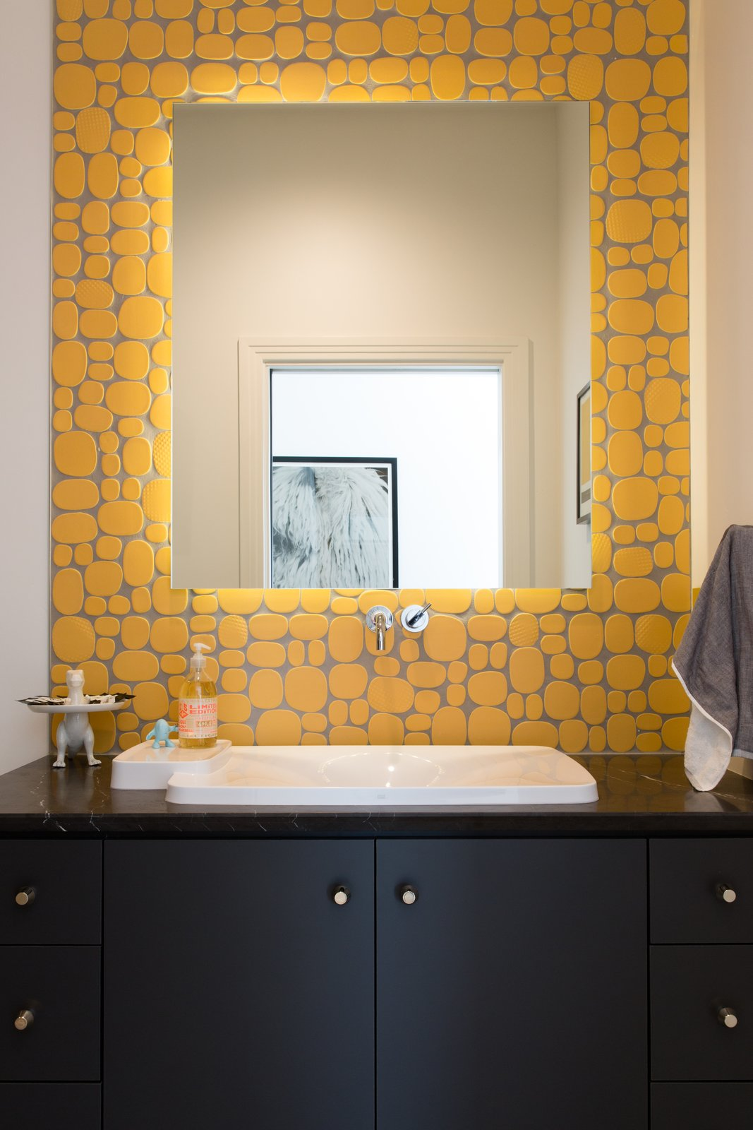 Photo 10 of 10 in a guide to ceramic versus porcelain tile dwell the north bathroom features rox solar yellow ceramic tile by modwalls rex ray studio a dailygadgetfo Choice Image