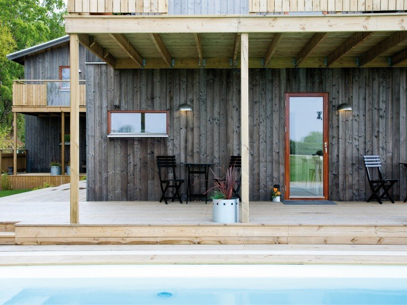 Bodelssons By The Sea is a sustainable bed and breakfast near the Baltic Sea. Through its ecological design, the outdoors is brought inside.  Photo 4 of 10 in 9 Modern Bed-and-Breakfasts in Europe