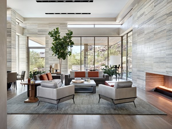 Modern home with living room. Photo 19 of Elegant Modern at Estancia