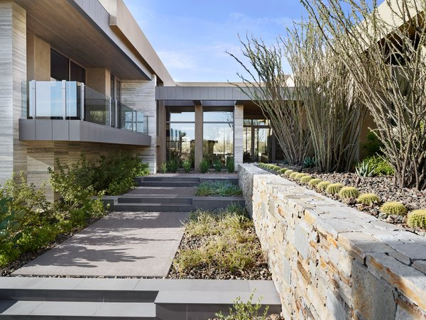 Modern home with outdoor, desert, and front yard. Photo 20 of Elegant Modern at Estancia