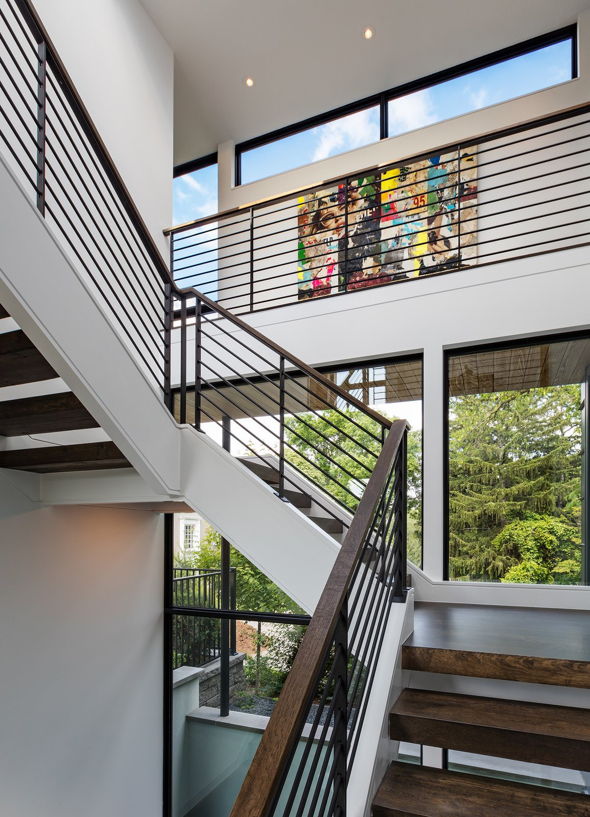 Tagged: Wood Tread, Metal Railing, Windows, Awning Window Type, Picture Window Type, and Metal.  Calhoun Pavilions Residence by Peterssen/Keller Architecture