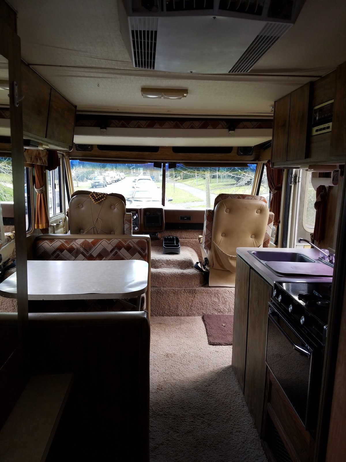 Kamarul's RV pre-renovation.  Photo 3 of 13 in A Portland Couple Renovate a 1982 RV, Turning It Into Their New Home