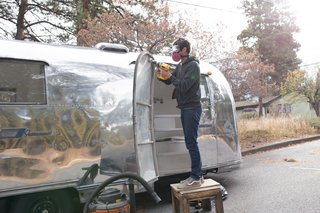 See How an Oregon Couple Renovated Their 1966 Airstream - Photo 9 of 24 -