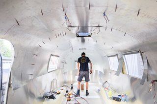 See How an Oregon Couple Renovated Their 1966 Airstream - Photo 7 of 24 -