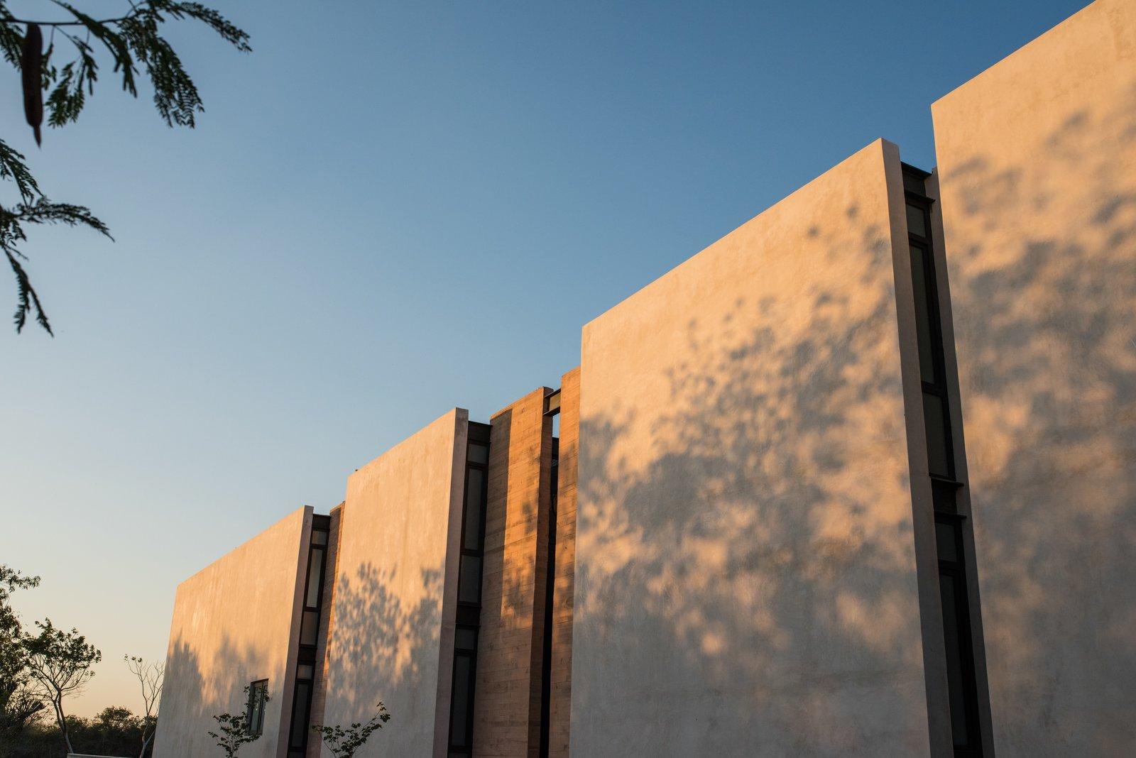 West facade  Casa Chaaltun by tescala