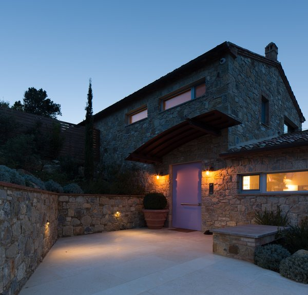 Modern home with outdoor. Photo  of Campo al Doccio