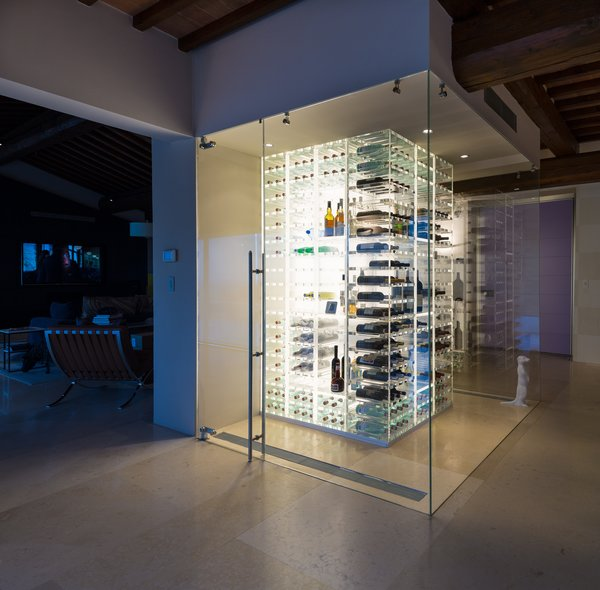 Modern home with wine cooler and storage room. Photo 3 of Campo al Doccio