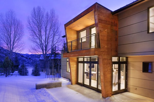 Modern home with outdoor. Photo  of Mustang Circle