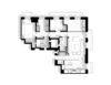 Modern home with Bath Room. Floor Plan Photo  of Cherokee Loft