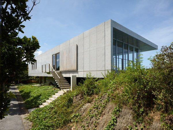 Modern home with outdoor. Photo 2 of House on Ikema Island