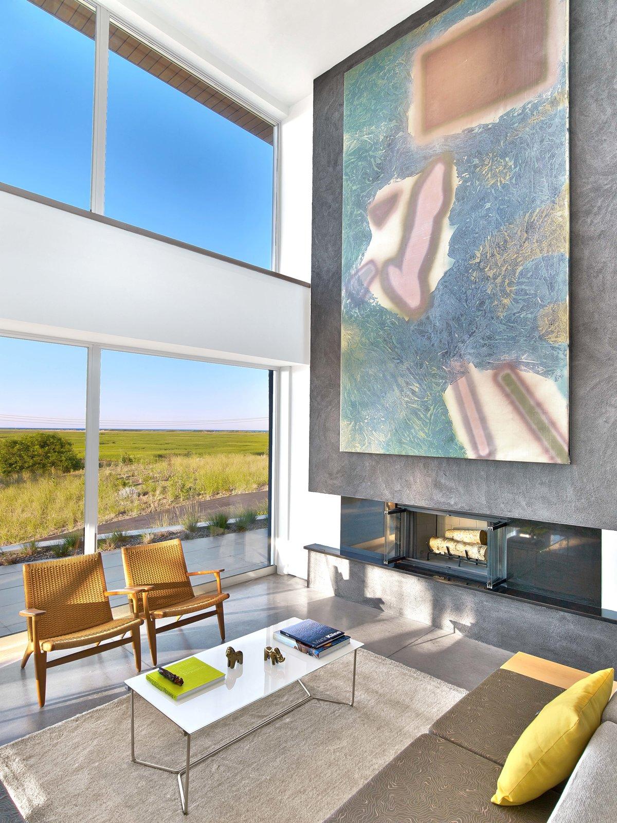 Tagged: Living Room, Sofa, and Chair.  Cape Cod - Beach House by Hariri & Hariri Architecture