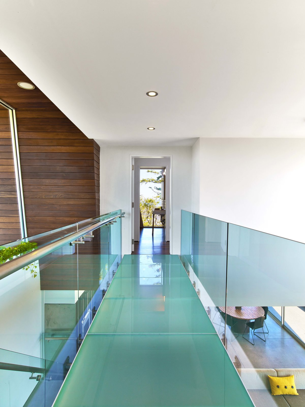 Tagged: Staircase and Glass Railing.  Cape Cod - Beach House by Hariri & Hariri Architecture