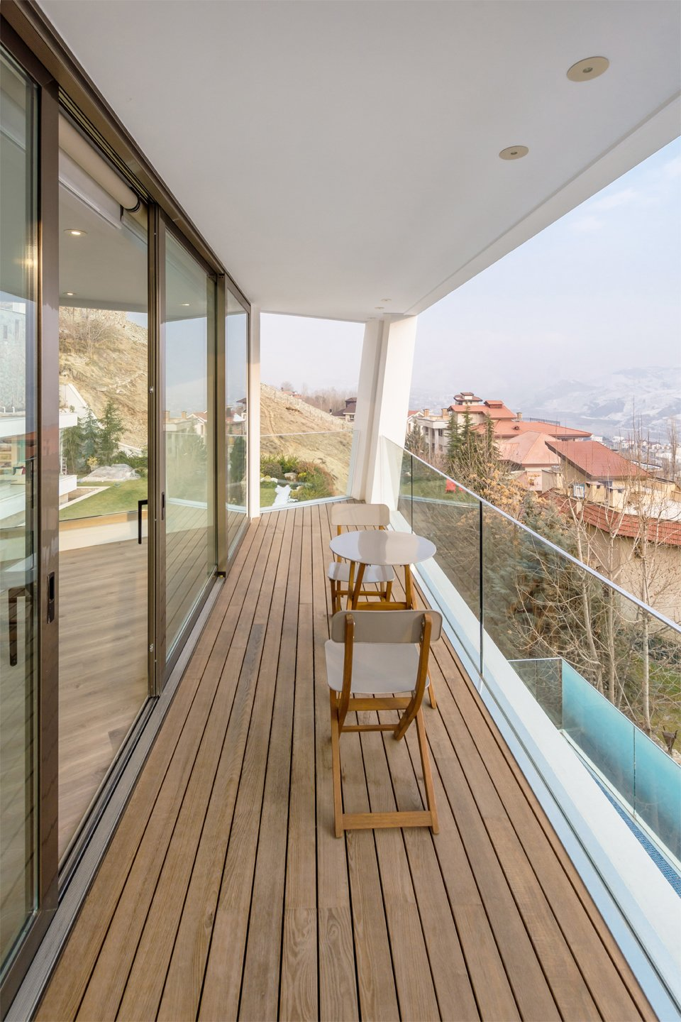 Tagged: Outdoor and Wood Patio, Porch, Deck.  Lavasan Villa by Hariri & Hariri Architecture
