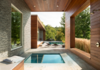 Modern home with Outdoor, Grass, Small Pools, Tubs, Shower, Trees, and Wood Patio, Porch, Deck. Photo 11 of Taghkanic House