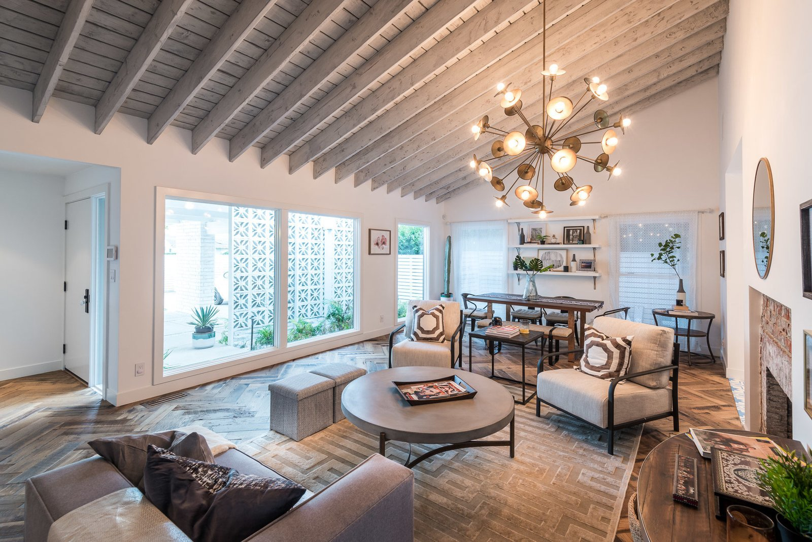 Tagged: Living Room.  Mid-Century Meets Boho Chic by Zillow