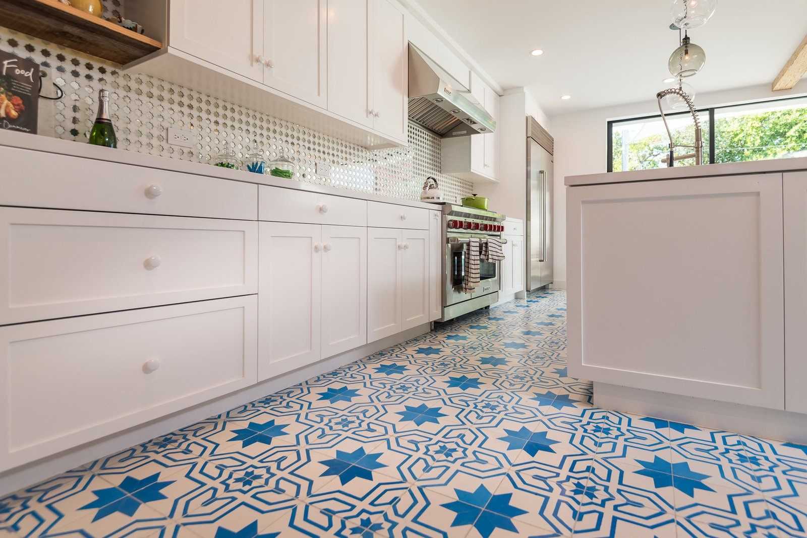 Tagged: Kitchen.  Mid-Century Meets Boho Chic by Zillow