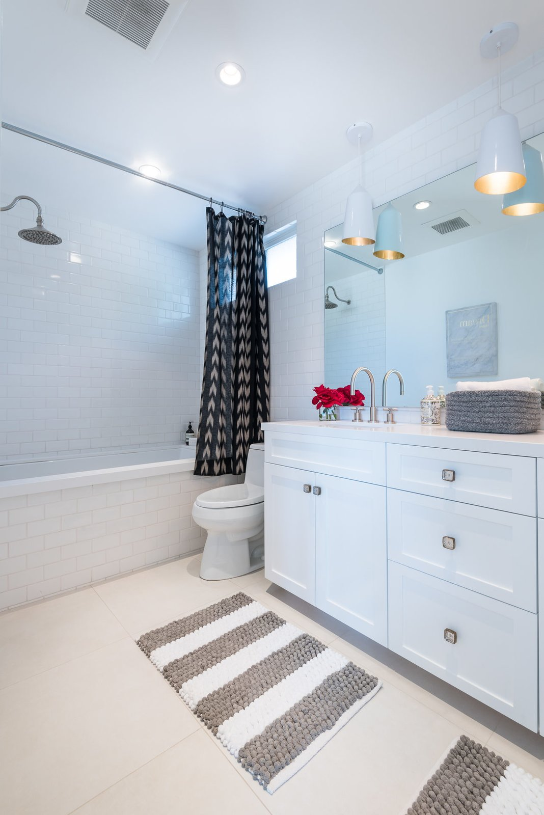 Tagged: Bath Room.  Mid-Century Meets Boho Chic by Zillow