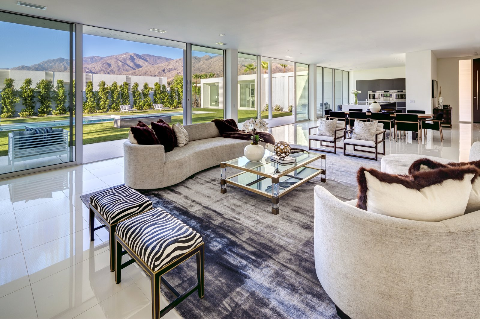 Tagged: Living Room, Sofa, Coffee Tables, Chair, and Rug Floor. Linea Residence by Zillow