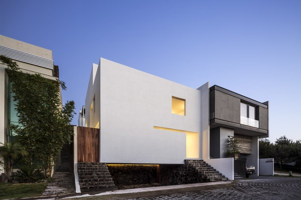 Modern home with outdoor and front yard. Photo  of The Cave