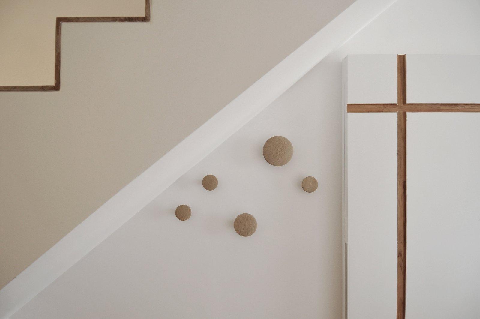 Tagged: Light Hardwood Floor, Staircase, Metal Railing, and Wood Tread.  cdr by tissellistudioarchitetti